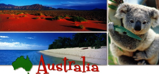 Flinders Ranges, a Koala and Heron Island